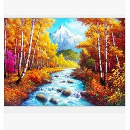 wall beds more 2018 - Bedroom Oil Painting Nature Landscape Paintings Decor Unframed Decoration Printed Poster for Living Room Wall Art Print