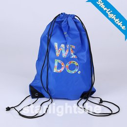 0df13f6c1a10 DHL Folding Sport Backpack Waterproof Nylon Drawstring Bag Home Travel Sport  Storage Use Draw String