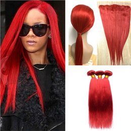Rihanna red hair online rihanna red hair for sale 9a ear to ear lace frontal closure with bundles rihanna red malaysian virgin human hair weave with silky straight 13x4 full lace frontals pmusecretfo Image collections
