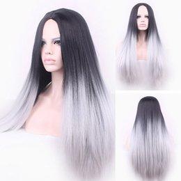 Toptan satış Hayır dantel Günlük peruk Cosplay Saç Peruca Pelucas Cosplay 26