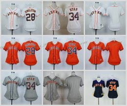 1aff8f7b6 ... Jersey 2017 Women Majestic Stitched Houston Astros Blank 28 Singleton  34 Nolan Ryan White Orange Blue Grey Astros Blank Green Celtic Flexbase  Authentic ...