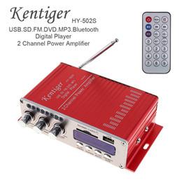 Discount fi audio - HY-502S 2-CH HI-FI Bluetooth Digital Audio Player Car Amplifier FM Radio Stereo Player Support SD USB MP3 DVD Input CAU_