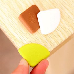 $enCountryForm.capitalKeyWord Australia - Wholesale- 4pcs Corner Desk Table Safety Pad Protector Cushion Edge Guards Thick protective for baby Free Shipping