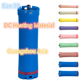 Wholesale metal hot rod for sale – custom 2017 hot sale salon use hair perm roller rod curler DC material water proof V size