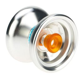 classic yoyo UK - Popular Yoyo Classic Kids Toys Professional Magic Yoyo K3 Aluminum Alloy Metal Yoyo 8 Ball KK Bearing with Spinning String