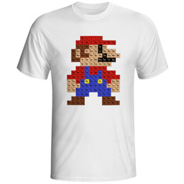 $enCountryForm.capitalKeyWord Australia - Super Video Game Unsiex T Shirt Cool Design Fashion Creative Popular T-shirt Cool Casual Novelty Funny Tshirt Style Tee
