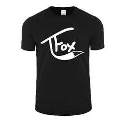 China Good Quality Brand Cotton Shirt Summer Style Cool Short Graphic Wishcart Tanner Fox O-Neck Mens Tees suppliers