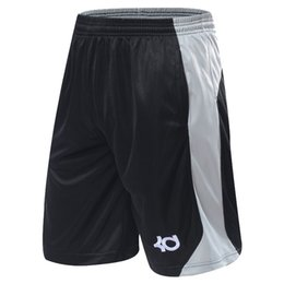 Barato Bolso Elástico Para Correr-New Arrival Summer Gym Shorts Sport Running Knee Length Elastic Loose Pocket Basketball Train Shorts Plus Size XL-4XL