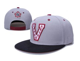 Sombreros Al Por Mayor Del Sombrero Animal Baratos-2017 nuevo Vancouver Millionaires Hockey Club sombreros Hat equipo de invierno Gorras Popular Beanie Venta al por mayor Fix Cheap Gift