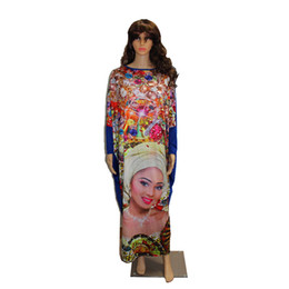 AfricAn dresses online shopping - 2017 Fashion African Dashiki New Design femmes vestidos Bazin Elastic Party PLus Size vie riche Diamond Pattern Loose Dress