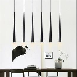 Modern Led Conical Pendant Light Aluminumu0026metal Home Industrial Lighting  Hang Lamp Dining Living Room Bar Cafe Droplight Fixture