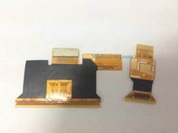 lcd touch screen flex cable UK - for samsung Note4 LCD touch flex cable screen digitizer display flex assembly for lcd refurbishment replace parts