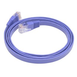 $enCountryForm.capitalKeyWord Canada - High Speed RJ45 CAT5e Ethernet Network Flat LAN UTP Patch Cables UTP Patch Router Cables 1m Hot Sale