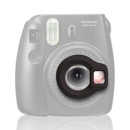 China Wholesale- Instax Mini 8 Instant Camera Close-up Lens Self Shoot Mirror by Takashi - Black cheap shoot cameras suppliers
