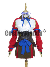 Kabaneri da fortaleza de ferro Mumei meninas Halloween Battle Dress Cosplay
