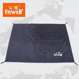 Wholesale Delicate Promotion Tarp Airbed Waterproof Outdoor Picnic Beach Camping Mat Camping Tarpaulin Bay Play Mat Plaid Blanket 200*145