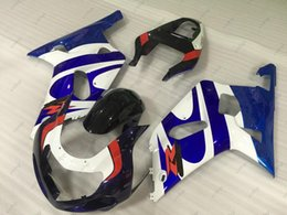 $enCountryForm.capitalKeyWord Australia - Full Body Kits GSX-R1000 00 01 ABS Fairing GSXR 600 750 1000 2003 Blue White Black Body Kits for Suzuki GSXR600 2000 - 2003 K1 K2