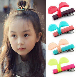 $enCountryForm.capitalKeyWord Australia - New 2017 Baby new mini cutebean sprout children baby girls hair claws plastic hair child clips hairpins barrettes accessories free shipping