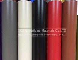 Discount wrap car pvc film - Preimium quality leather pattern PVC adhesive vinyl wrap film sticker for auto car body internal decoration vinyl wrap