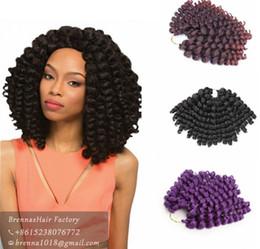 $enCountryForm.capitalKeyWord Canada - New Hair Good 8inch 20roots pack Jumpy Wand Curl Twist Jamaican Bounce Twist Braiding Hair 2X Ombre Havana Mambo Twist Crochet Braid Hair