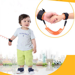 Wholesale Baby Safety Anti lost Strap Harness Toddler Leash Anti Lost Wrist Link Kids Traction Rope Bracelet Children Safety rope Rotate strap IA556