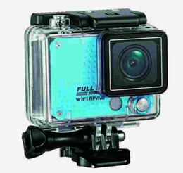 Inch lcd controller online shopping - S30 Ultra HD K M WiFi Sport Action Camera Diving Waterproof Helmet Video Camcorder with G Remote Controller