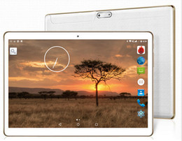 Tablet Sim Free Dhl Canada - Wholesale- DHL free shipping Android Tablet PC 9.6 inch Dual SIM 3G WCDMA 4G LTE Child Tablet 10.1 4GB RAM 32GB ROM Support Play store