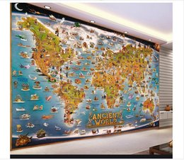 World Map Wallpaper Canada   Best Selling World Map Wallpaper from ...