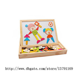 $enCountryForm.capitalKeyWord NZ - Wooden Multi-functional Learning & Education Game Magnetic Jigsaw Puzzle Toy Box with Blackboard & Whiteboard for children to draw