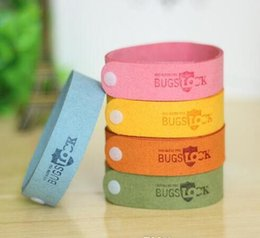baby hand bands NZ - Newest Arrival ! Mosquito Repellent Band Bracelets Anti Mosquito Pure Natural Baby Wristband Hand Ring