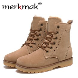 $enCountryForm.capitalKeyWord Canada - Wholesale- 2015 fashion winter shoes women's suede boots for men ladies snow boot botines mujer chaussure femme warm ankle boots with fur