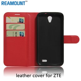 $enCountryForm.capitalKeyWord Canada - 80pcs Cover For ZTE blade A450 Flip Genuine Leather Wallet Case For ZTE blade S6 Luxury Stand Flip With Card Holder Protect Cell Phones