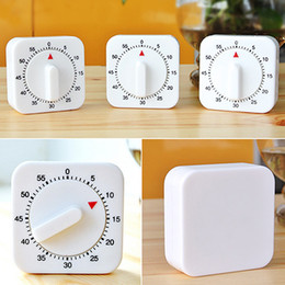 Wholesale Home Supplies Kitchen Timer Square Minute Mechanical Kitchen Cooking Timer Food Preparation Baking Countdown Reminder