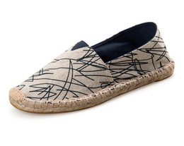 $enCountryForm.capitalKeyWord UK - Men womens espadrilles casual fisherman shoe checks grids stripped canvas slip on snickers skate ballet flats loafers 17 color