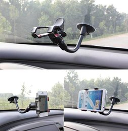 Universal Holder For Tablet Pc NZ - Universal 360 Degree Rotating Windshield Car Sucker Mobile Phone Holder Stand for All Cellphone GPS Tablet PC