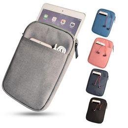 Discount 12.2 tablet - Liner bag Shockproof waterproof notebook Briefcase for Macbook ipad 9.7 inch ipad mini 1 2 3 4 laptop bag protective tab