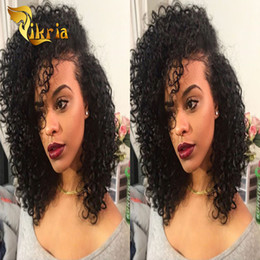 $enCountryForm.capitalKeyWord Australia - Best Deep Curly Glueless Full Lace Human Hair Wigs Malaysian Indian Brazilian Virgin Hair Lace Front Human Hair Wigs With Adjustable Straps