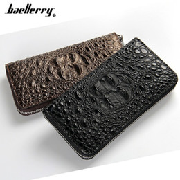 fashion women wallets europe Australia - Burst models Europe and America Popularity Women Men's Wallets Zipper hand Long Alligator Grain Capacity Clutch Wallet Carteira