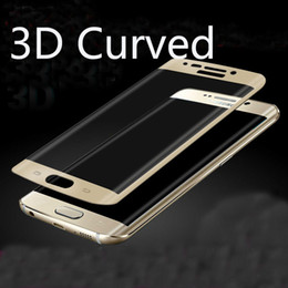 $enCountryForm.capitalKeyWord NZ - Full Cover 3D Curved side Coverage Tempered Glass Screen Protector For Samsung s6 s7 Note 7 edge plus iphone 7 plus huawei p9 LG G5 K7 K10