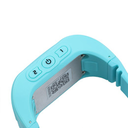 Chinese  Wholesale- Q50 Russian GPS Smart Watch Tracker Anti Lost Reminder For Kids SOS GSM For Android Emergency GSM Smart Bracelet Wristband Alarm manufacturers