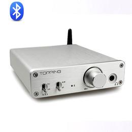 Mini Digital Audio Australia - Freeshipping New Topping VX3 TPA3116D2 30W *2 Class D Hifi Digital Audio Power Amplifier Wireless Bluetooth 4.0 Mini Home Headphone AMP