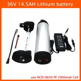 $enCountryForm.capitalKeyWord NZ - 36 V lithium battery 500W 36V 14.5AH water bottle battery 36V 14.5AH Electric Bicycle Battery Use NCR18650PF 2900mah cell 42V 2A Charger