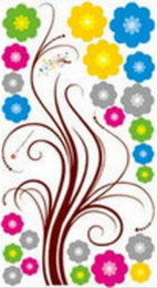 Girls wallpapers online shopping - New Design Flower Wall Stickers Bedroom Decor Art Decal Removeable Wallpaper Mural Sticker for Kids Room Girls Living Room