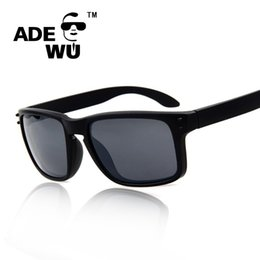 ok brand 2018 - Wholesale-Adewu Outdoor Fashion Brand Designer Men Women Sunglasses Mirror UV 400 Sun Glasses Male Quality is OK oculos