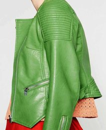Light green winter coat