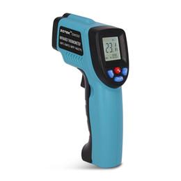 Zoyi GM550 Kızılötesi termometre LCD ekran Veri tutun spot lambası