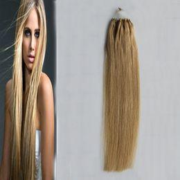 Blonde micro bead human hair extensions australia new featured 16 golden blonde micro loop human hair extensions 50g micro bead hair extensions 50 strands pmusecretfo Gallery