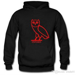 Barato Cópia Da Coruja Roupa-New Men Owl Printed Autumn Hoodies Hooded Long Sleeved Outono Slim Fit Masculino Adolescente Pullovers Moda Tops Vestuário