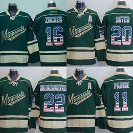 ... Jersey Factory Outlet Mens Minnesota Wild 22 Nino Niedereiter 16 Jason  Zucker 20 Ryan Suter 11 Zach ... ae7f361aa