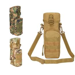 Molle water bottle pouches online shopping - Multi functiona Camo Cycling Water Bottle Pouch Molle Military Belt Hang Rucksack Saddle bag Tactical Sling Bag Water Bag